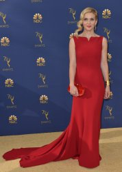 Rhea Seehorn attends the 70th annual Primetime Emmy Awards in Los Angeles