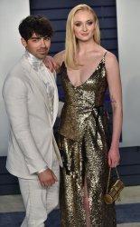 Sophie Turner and Joe Jonas attend Vanity Fair Oscar Party 2019
