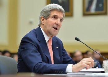 Secretary of State John Kerry testifies in Washington, D.C.
