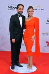 Jose Fernando and Vanessa Hauc attend the Billboard Latin Music Awards in Las Vegas