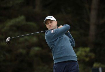 Russell Knox on the 1st day of the Open Championship at Royal Portrush