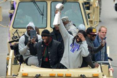 Baltimore Ravens Super Bowl XLVII Victory Parade in Baltimore