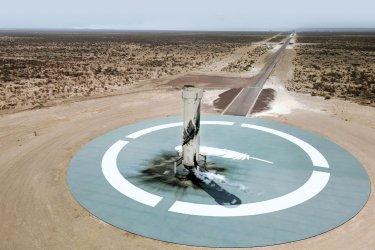 Blue Origin's New Shepard Rocket Prepares for First Crewed Launch