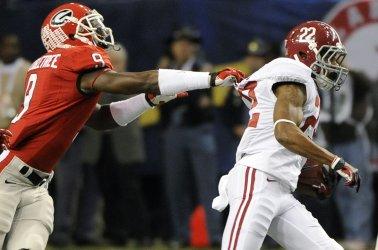 Georgia plays Alabama for the SEC Football Championship in Atlanta