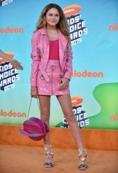 Ruby Rose Turner attends Kids' Choice Awards 2019