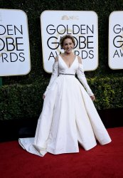 Sarah Jessica Parker attends the 74th annual Golden Globe Awards in Beverly Hills