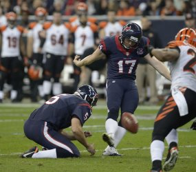 Cincinnati Bengals vs. Houston Texans in AFC Wild Card Round in Houston