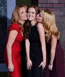 """Lea Thompson and her daughters Zoe Deutch and Madelyn Deutch attend the """"Beautiful Creatures"""" premiere in Los Angeles"""