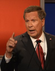 Republican Presidential Hopefuls John Kasich at 4th Debate