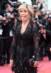Jane Fonda attends the Cannes Film Festival