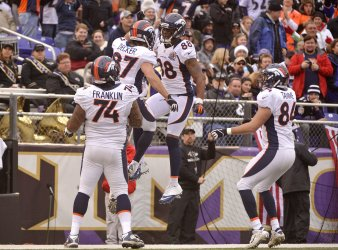 Denver Broncos vs Baltimore Ravens in Baltimore
