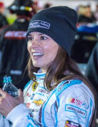 Danica Patrick Preparing to Race In Can Am Qualifying Race at Daytona