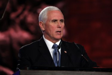 U.S. VP Pence Speaks at World Holocaust Forum