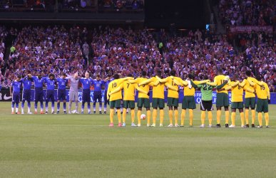 USA VS St. Vincent and the Grenadines soccer