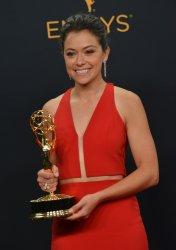 Tatiana Maslany won an award at the 68th Primetime Emmy Awards in Los Angeles