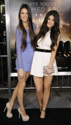 """Kendall Jenner and Kylie Jenner attend the premiere of the film """"Project X"""" in Los Angeles"""