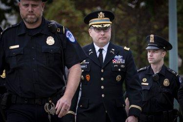 Lt. Col. Alexander Vindman Deposed In Trump Impeachment Investigation