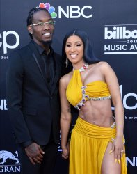 Offset and Cardi B attend the 2019 Billboard Music Awards in Las Vegas
