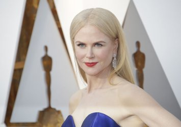 Nicole Kidman arrives at the 90th Annual Academy Awards in Hollywood