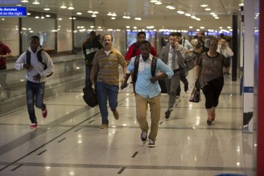 Two Explosions Followed by Gunfire Hit Turkey's Biggest Airport