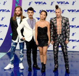 DNCE attend the 2017 MTV Video Music Awards in Inglewood, California