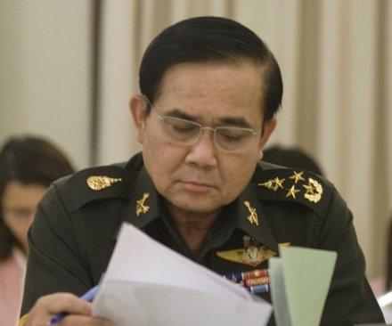 Thai coup leader Gen. Prayuth named new PM, expanding military control