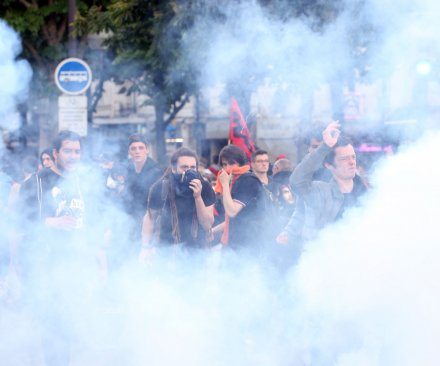 French cities rocked by protests over labor reform bill