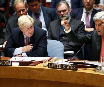 U.K. foreign secretary suggests Russia 'may have committed' war crime in Syria