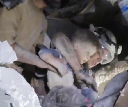 Russia denies carrying out airstrikes in Syria that killed 23, including seven children