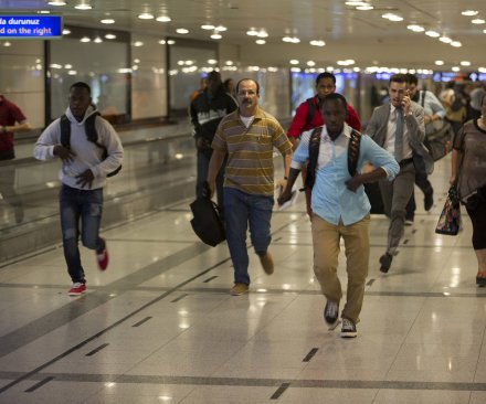 Airport terrorists
