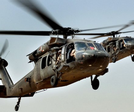 UH-60 Black Hawk helicopter crash kills 4 in Fort Hood, Texas