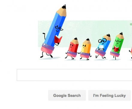 Google Doodle celebrates National Teacher's Day