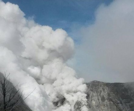 Costa Rica's Turrialba volcano erupts