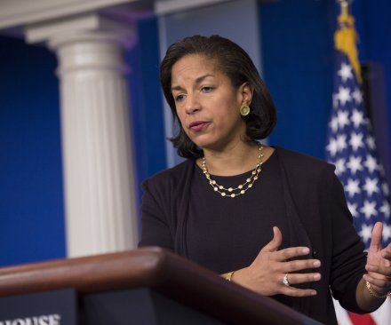 U.S. Security Advisor Rice meets with Pakistan PM Sharif in Islamabad