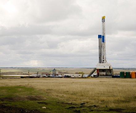 North Dakota rig count flirts with historic low
