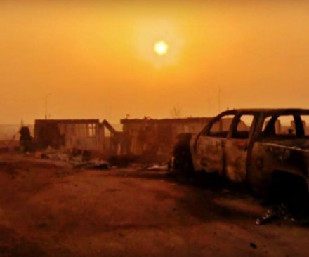 Canada wildfire: Nearly 100K evacuated; hundreds of homes lost; neighborhoods reduced to ash