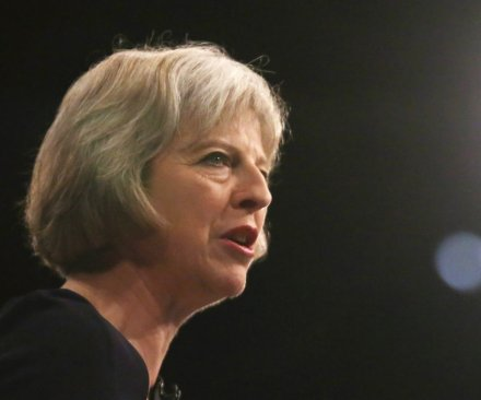 British PM May says 'Brexit' should not mean border controls with Ireland