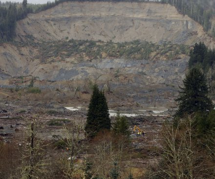 Mudslides hit area in Washington State charred by wildfires