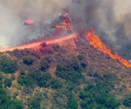new Califoria fires