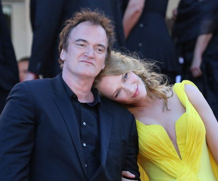 Uma Thurman addresses Quentin Tarantino dating rumors