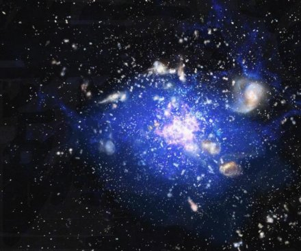 Study finds birthplace of largest galaxies in the universe