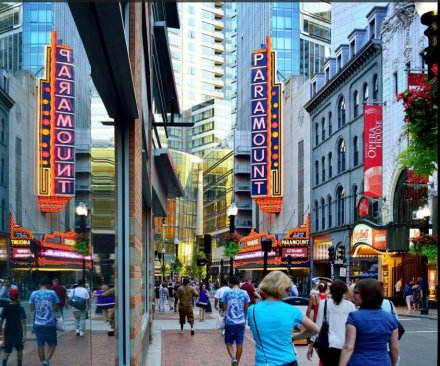 Seven injured in Boston Theater District stabbing, one critical