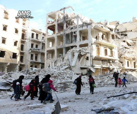 Assad's forces retake half of rebel-held Aleppo