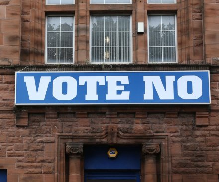 Scotland says 'No Thanks,' will remain part of the United Kingdom