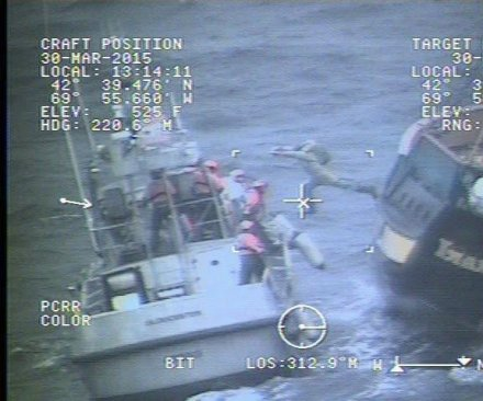 Coast Guard rescues nine people from tourist pirate ship