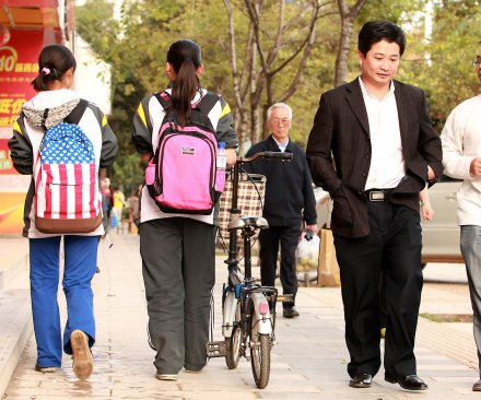 Chinese study-abroad students face democratic dilemma