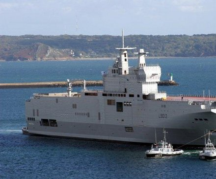 Russia: France will compensate for halting sale of warships