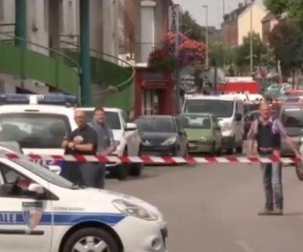 Knife-wielding men take hostages in Normandy church, kill priest