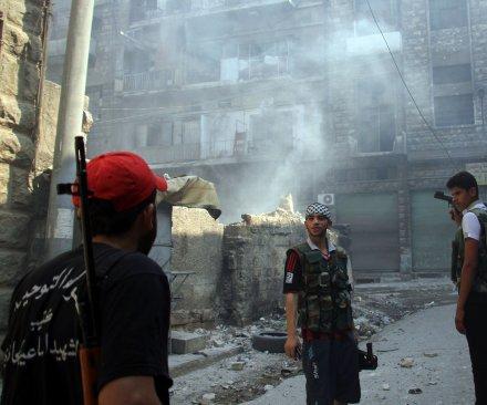 Syrian rebels announce push to break Bashar al-Assad's Aleppo siege