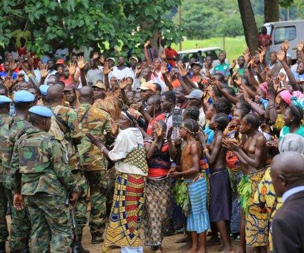 U.N. names 41 peacekeepers accused in 'abhorrent' CAR refugee sex assaults